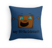 My Little Biscuit   Tiny Box Tim   Markiplier   *NEW INCLUDED* Throw Pillow