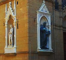 Florence Street Statues by thetutor
