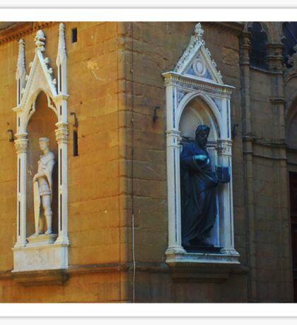 Florence Street Statues Sticker