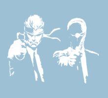 Metal Gear Fiction (Pulp Gear Solid) Kids Tee