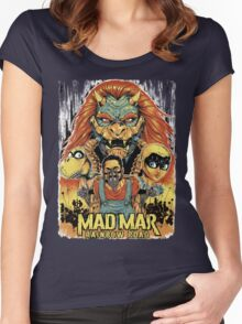 Mad Mar: Rainbow Road Women's Fitted Scoop T-Shirt