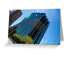 High-Rise In Sacramento Greeting Card