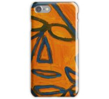 Blue and Orange iPhone Case/Skin
