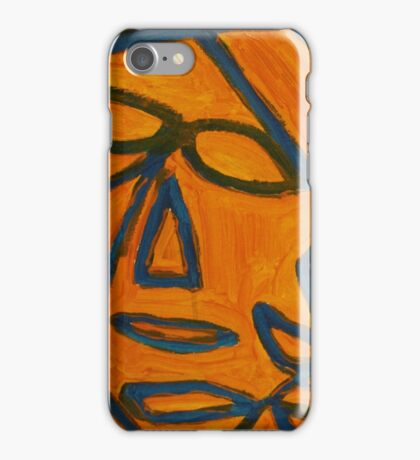 Blue and Orange iPhone Case/Skin