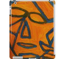 Blue and Orange iPad Case/Skin