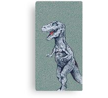 hungry rex Canvas Print