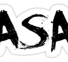 ASA black drip Sticker