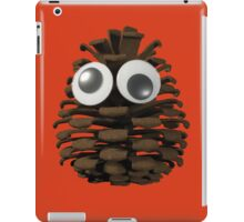 Googly-Eyed Pinecone iPad Case/Skin