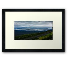 Icefields leading towards the Mountains of Madness Framed Print