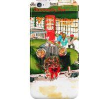 1932 Rolls Royce Woody - Christmas in London iPhone Case/Skin