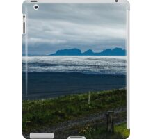 Icefields leading towards the Mountains of Madness iPad Case/Skin