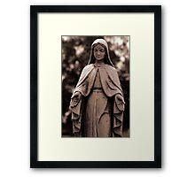 St. Joseph Catholic Cemetery - 4 Framed Print