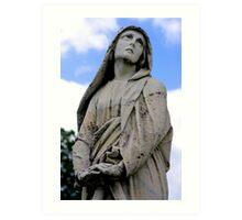 St. Joseph Catholic Cemetery - 5 Art Print
