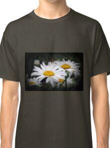 White Shasta Daisies Classic T-Shirt