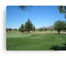 Now if i can make an Eagle... Turquoise Valley Golf Course-Az Canvas Print