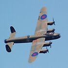 Lancaster Bomber by Steven Squizzero