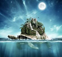 Turtle Island by rowye