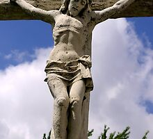 Jesus on the Cross by James Formo