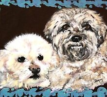 Doggies Precious & Bandit by Shanon Padmore
