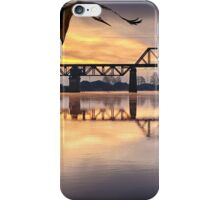 Dawn on the Snohomish iPhone Case/Skin