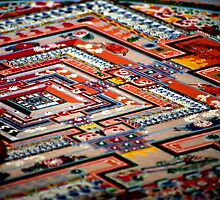 grain by grain, sand mandala. india by tim buckley | bodhiimages