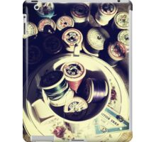 Vintage sewing iPad Case/Skin