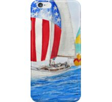 Parade of NATIONS... Spinnakers... iPhone Case/Skin