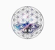 Flower of Life Moth Unisex T-Shirt