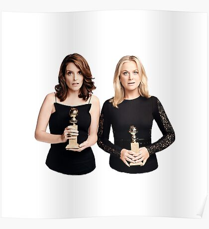 Tina and Amy Poster