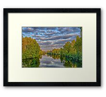 Snohomish River Framed Print