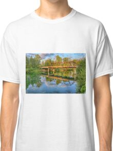 Dawn on the Snohomish Classic T-Shirt
