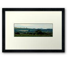 Views across the River Framed Print