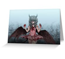 Most Gifted Demon Greeting Card