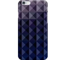 Purple Taupe Abstract Low Polygon Background iPhone Case/Skin