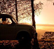 Fiat 600 del 59  by Skizzo