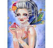 Marie Antoinette - Let them eat cupcake... Photographic Print