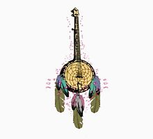 Dreamcatcher Banjo with Flares Unisex T-Shirt