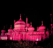 Pink Pavilion for Gay Pride, Brighton. £22.00 mounted and framed by eiress