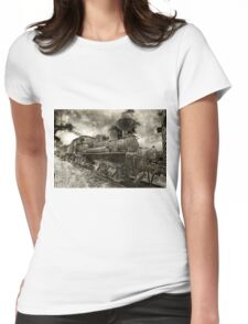 Rusty Loco Womens Fitted T-Shirt