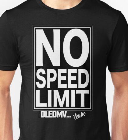 DLEDMV-No Speed Limit T-Shirt