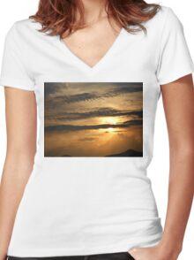 ©TSS The Sun Series IX IA. Women's Fitted V-Neck T-Shirt