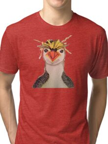 Rock Hopper Penguin Tri-blend T-Shirt