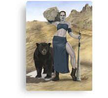 Stone Giant, part of the Giants series Canvas Print