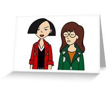 Daria + Jane Greeting Card