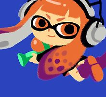 Inkling Girl by ravefirell