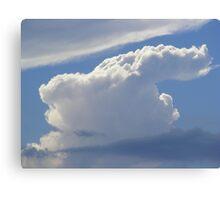 The Art Of Cloud Shapes Canvas Print
