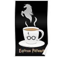 Espresso Patronum - Horse Poster