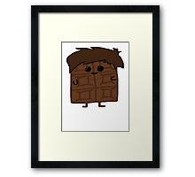 Louis Tomlinson as a Candy Person Framed Print