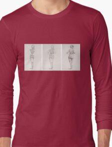 figure study Long Sleeve T-Shirt