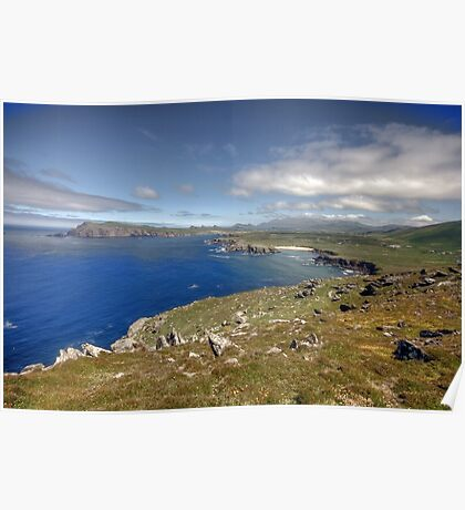 Slea Head Coastline Poster